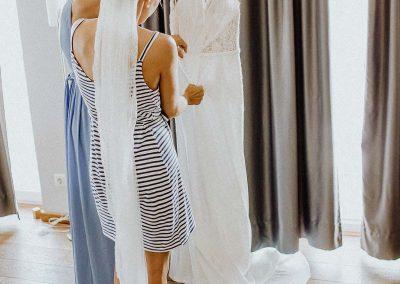Hochzeitsreportage Bremerhaven Havenwelten getting ready Brautpaar