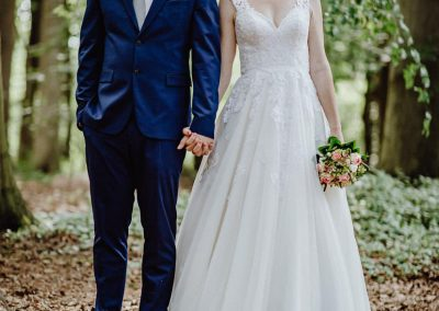 Sommerhochzeit Niedersachsen Ankelohe Brautpaar
